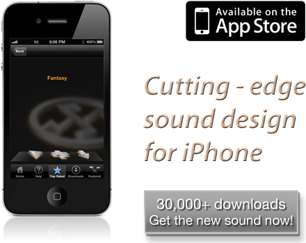 ToneRack App. 30,000 ringtones downloaded since release. On the App Store now.